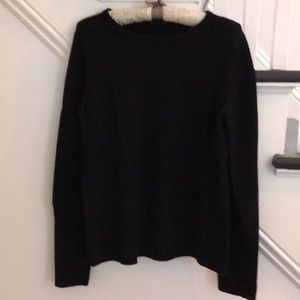Black sweater